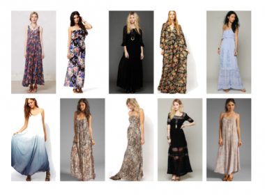 10 maxi vestidos para embarazadas / 10 maxi dresses for pregnant ladies