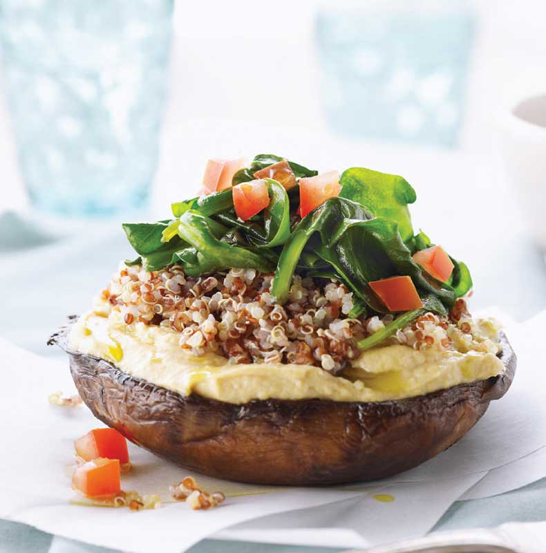 Portobello-Quinoa-Stacks