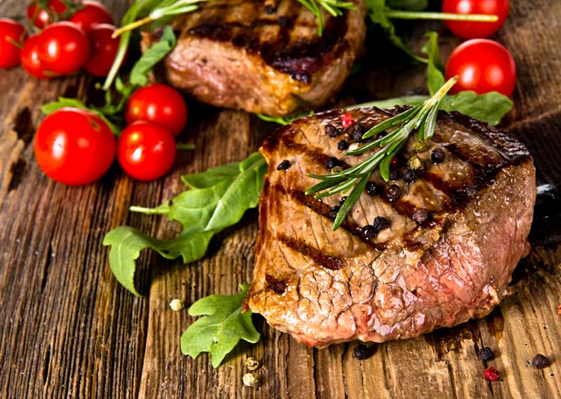 Steak-Meat-Beef-Tomato-Grilled-Seared-Rosemary