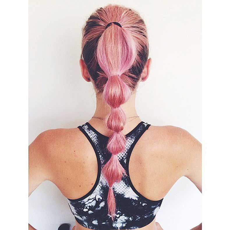 Bunched-Ponytail