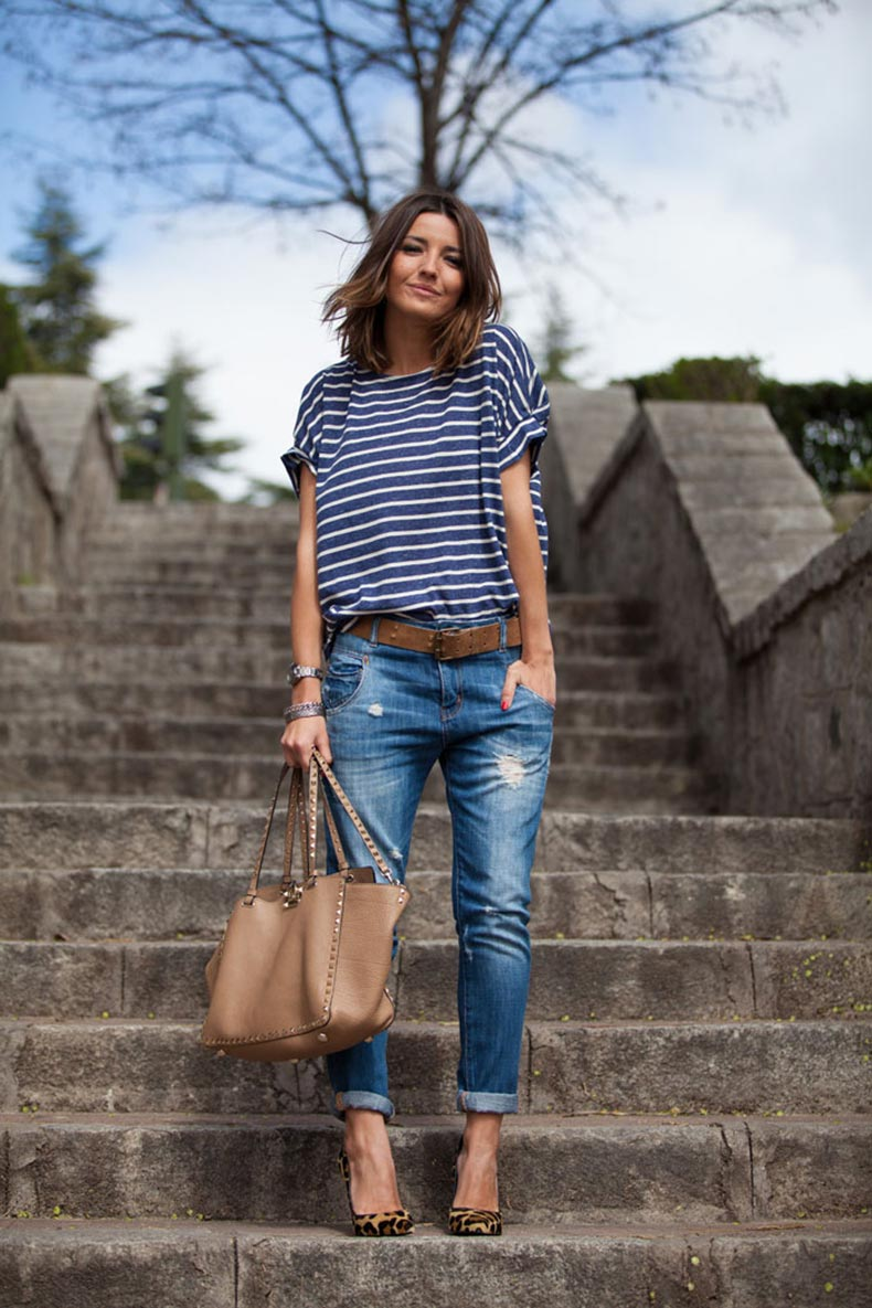 spring-outfit-street-style-fashion-blog-striped-top-boyfriend-jeans-leopard-print-heels