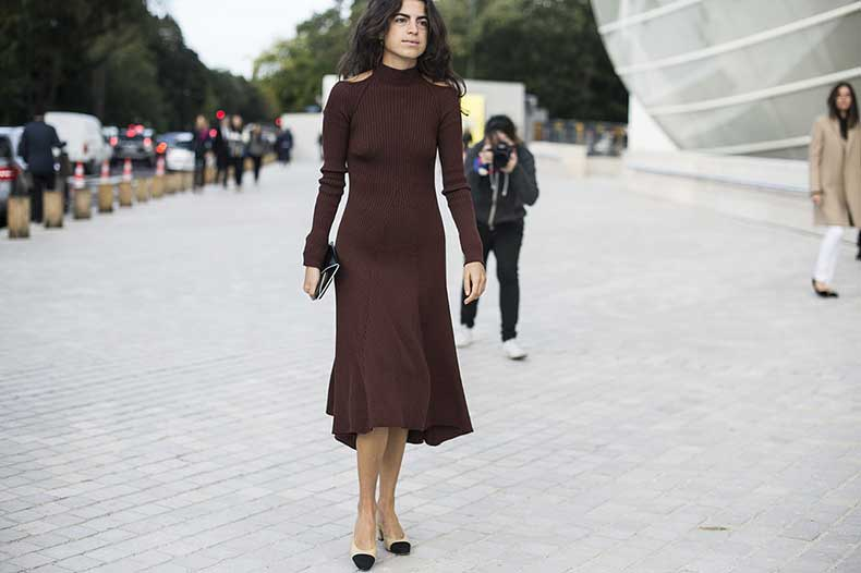 Leandra-Medine-completed-her-PFW-look-ladylike-shoes