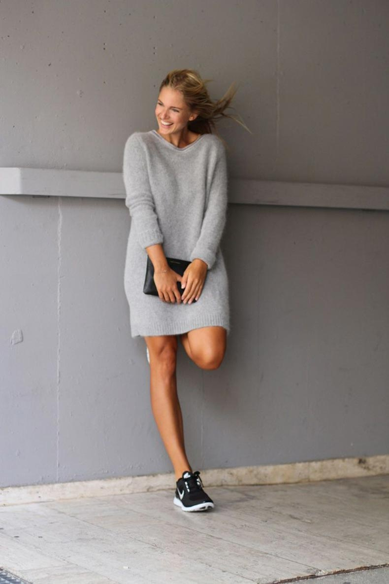 27 ideas chic para usar un sweater cut paste blog de moda Celine fashion street style