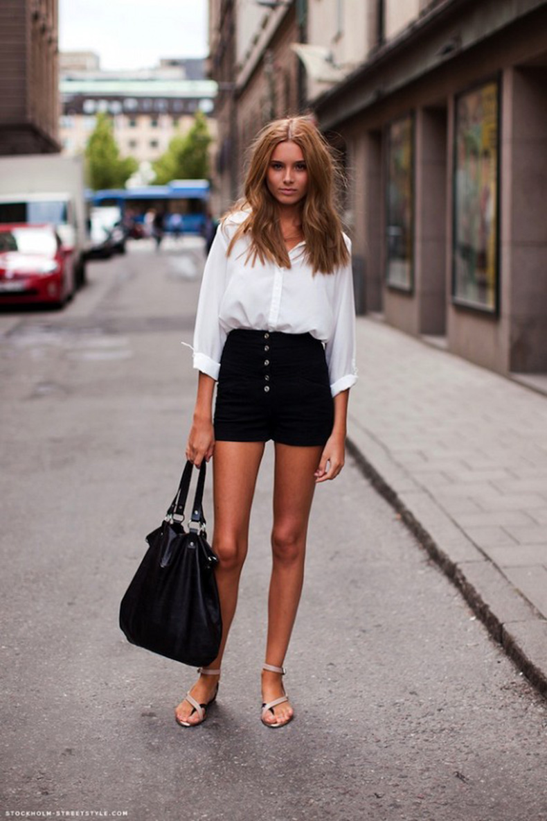 Black-and-White-Summer-Outfits-for-Street-Style