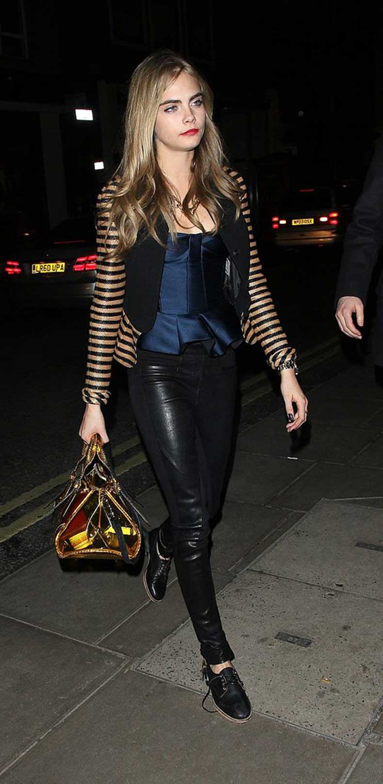 During-fancy-night-out-London-Cara-Delevingne-kept-luxe