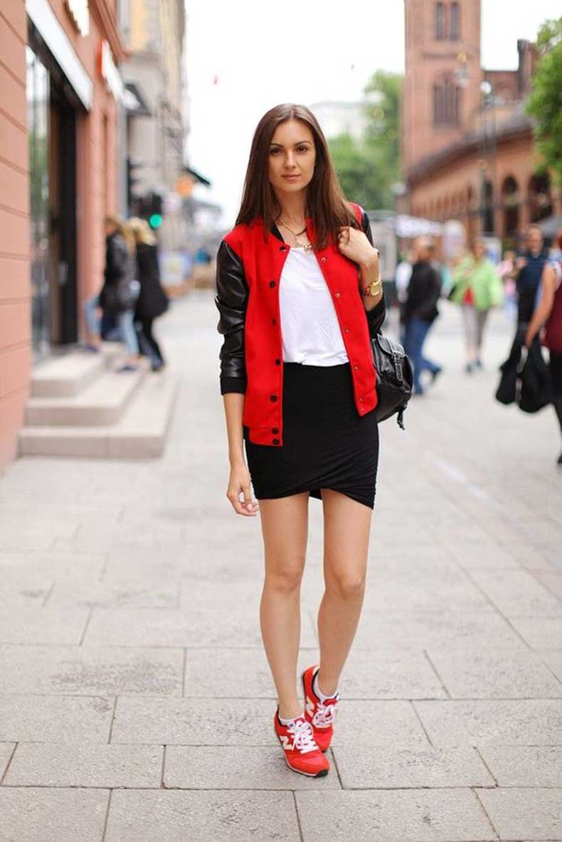 sneakers-in-red-and-mini-bandage-skirt