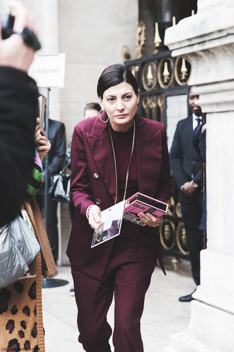 Paris_Fashion_Week-Fall_Winter_2015-Street_Style-PFW-Burgundy_Suite-Giovanna_Battaglia-5-790x1185