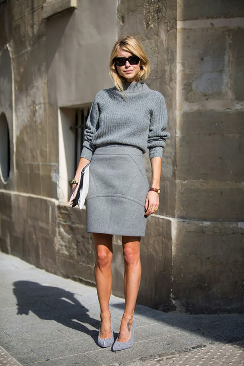 Total-grey-look-street-style-skirt-sweater-(2)