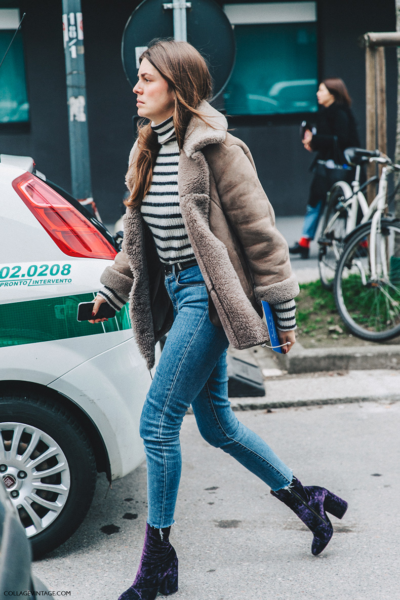 Milan_Fashion_Week_Fall_16-MFW-Street_Style-Collage_Vintage-Velvet_Boots-Shearling_Coat-