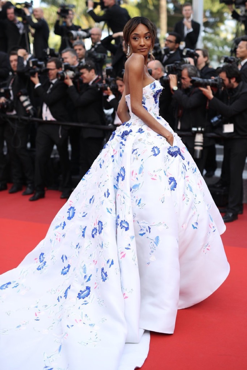 Jourdan-Dunn-wore-fairy-tale-Ralph-amp-Russo-gown-Unknown