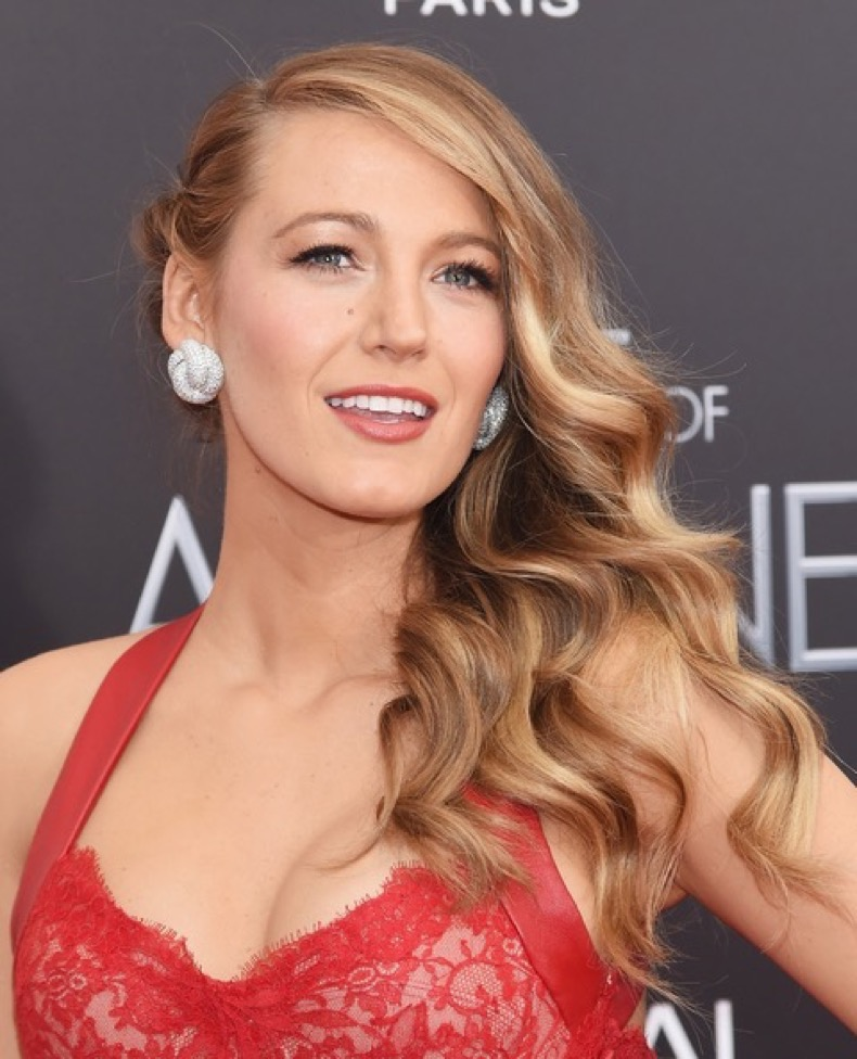 "NEW YORK, NY - APRIL 19:  Actress Blake Lively attends ""The Age of Adaline"" premiere at AMC Loews Lincoln Square 13 theater on April 19, 2015 in New York City.  (Photo by Jamie McCarthy/Getty Images)"