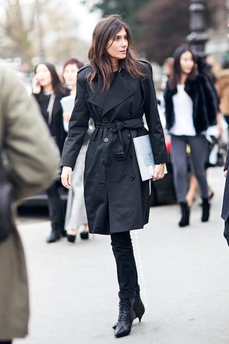 Le-Fashion-Blog-Winter-Street-Style-Emmanuelle-Alt-Trench-Coat-Black-Cuffed-Jeans-Lace-Up-Kitten-Heel-Boots-Via-Stockholm-Streetstyle