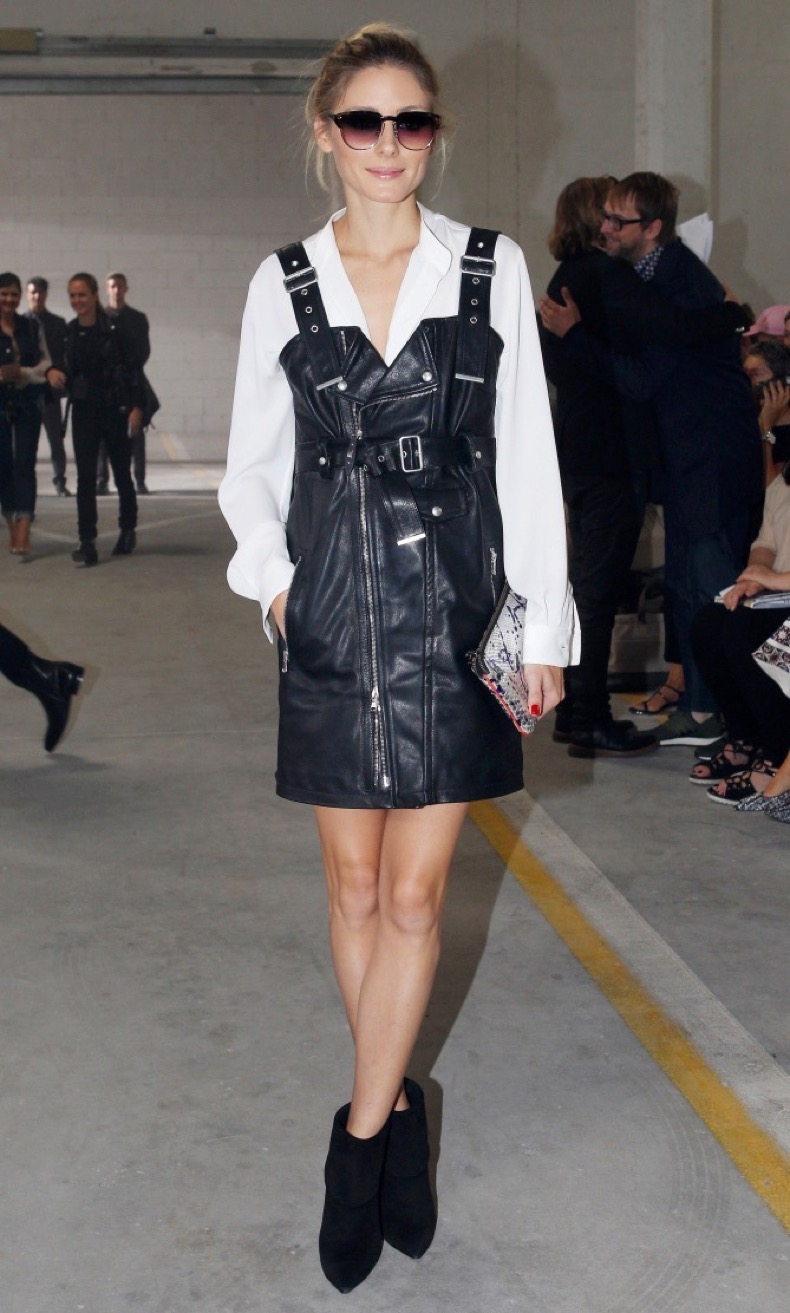 September 23, 2016: Olivia Palermo attending the Diesel Black Gold RTW Spring 2017 show during Milan Fashion Week in Milan, Italy. Mandatory Credit: INFphoto.com Ref: infitmi-04