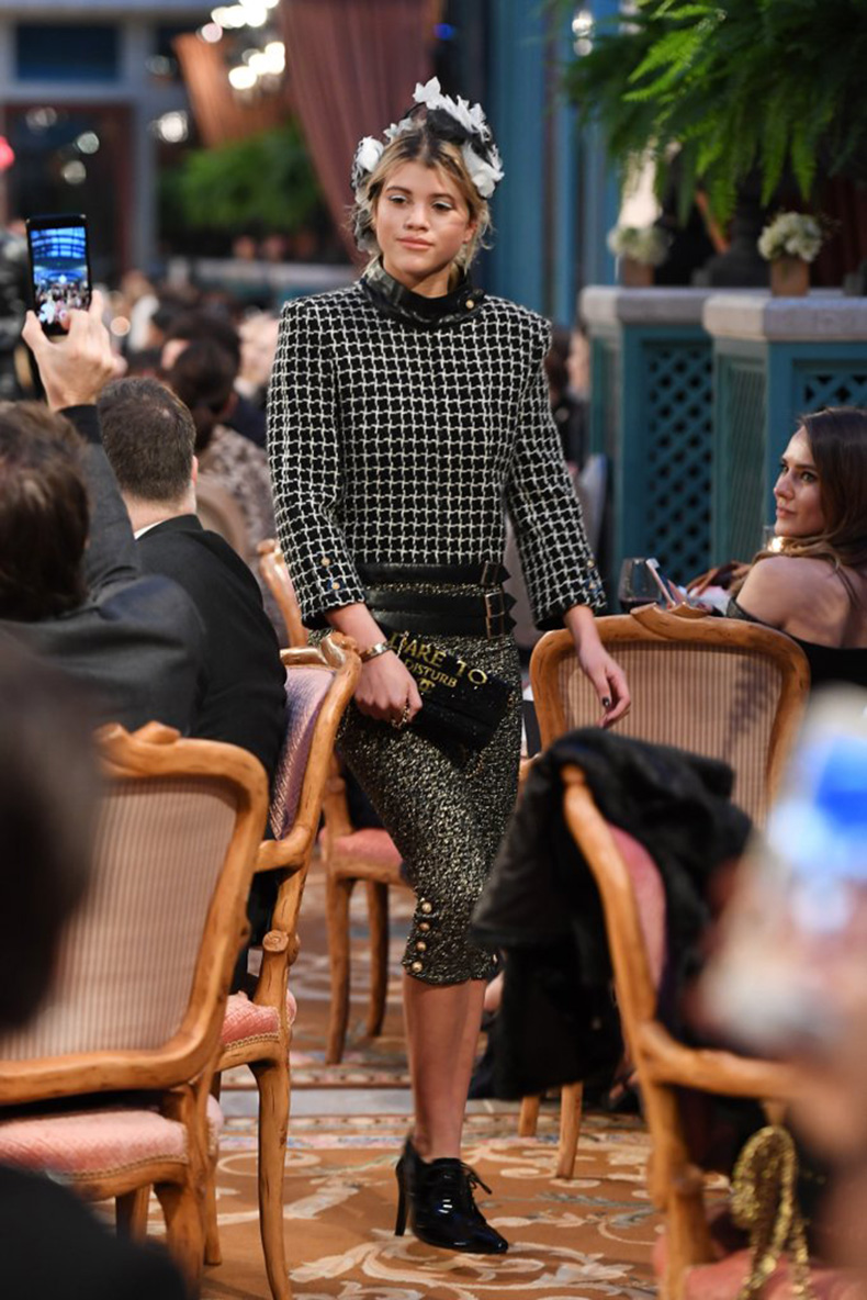 sofia-richie-also-made-her-first-runway-debut